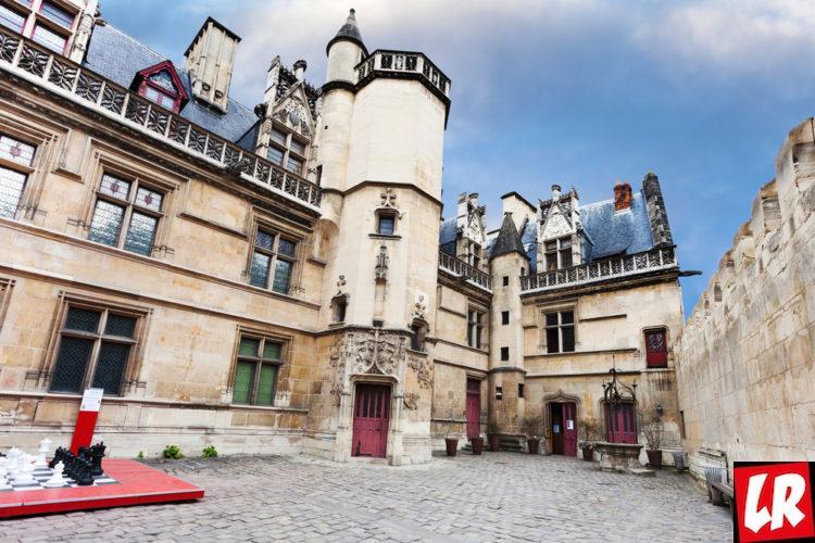 париж, латинский квартал, отель клюни