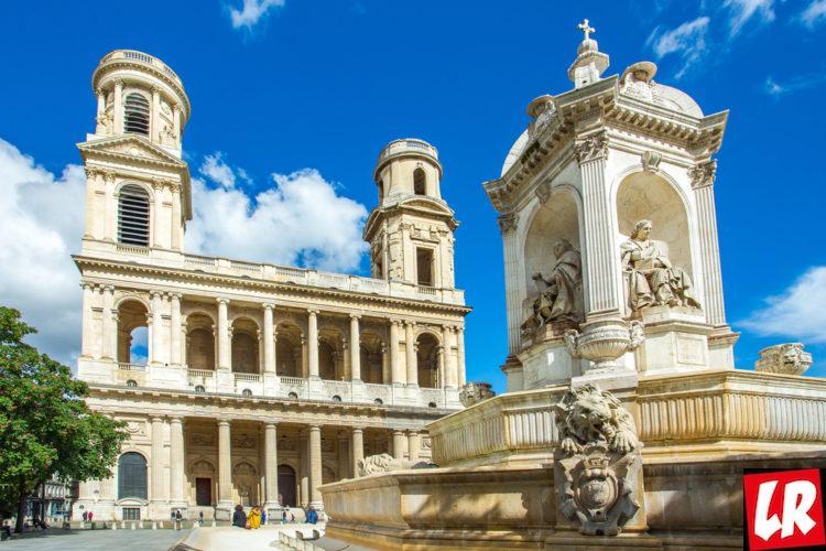 Сен-Сюльпис, церковь, Латинский квартал, Париж