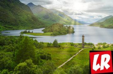 лучшие места отдыха, Шотландия