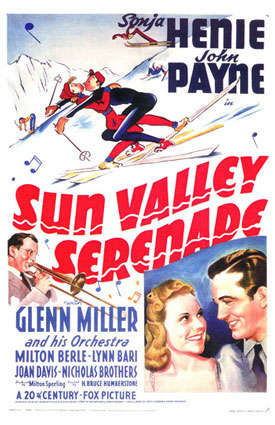 Серенада солнечной долины, США, Глен Миллер, постер