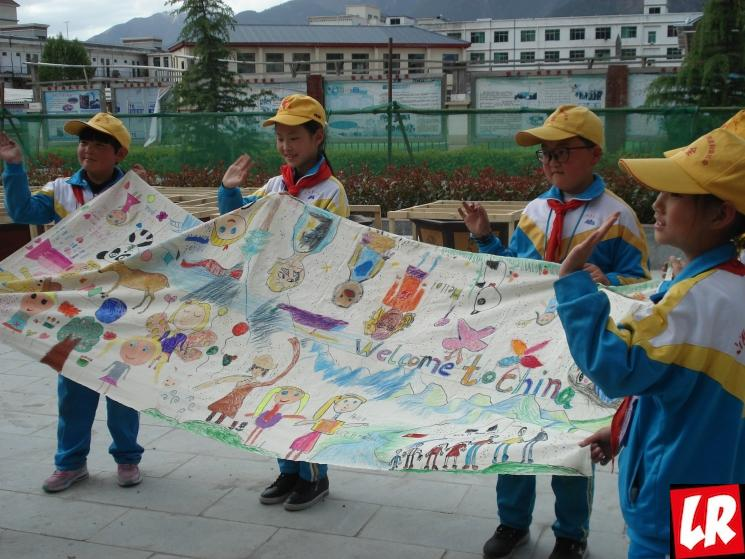 поездка в Тибет, тибетские дети