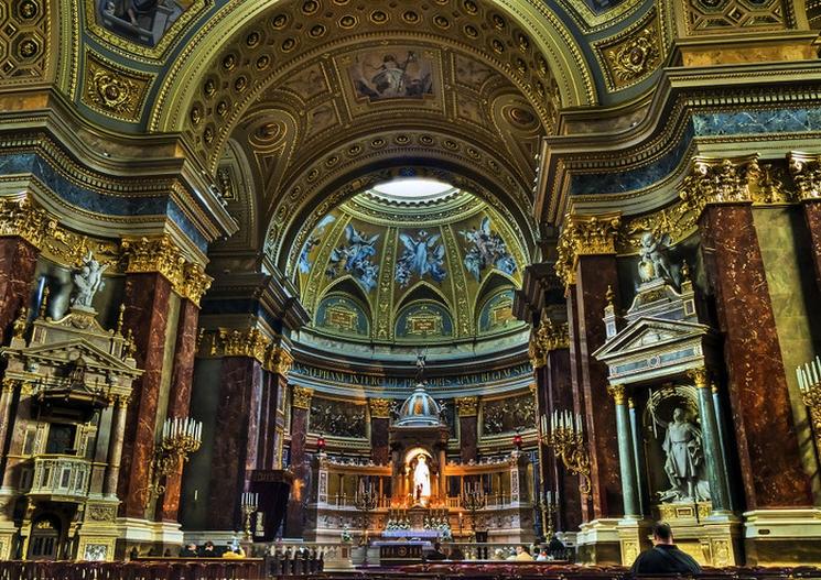 фишки дня - 20 августа, День святого Иштвана, базилика святого Иштвана Будапешт