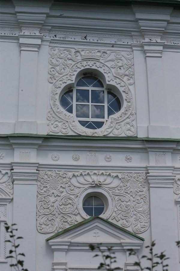 Мгарский монастырь, история Мгарского монастыря, лепнина, фасад храма, собор