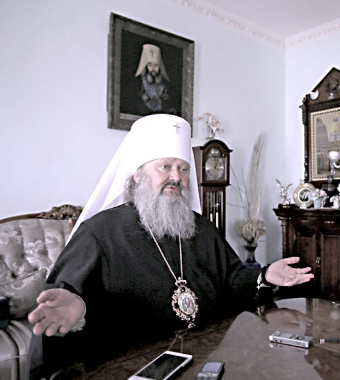 Киево-Печерская лавра, интервью, наместник