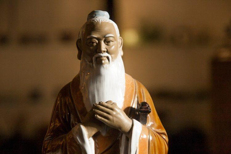 Фигурка, конфуций