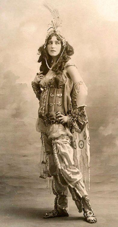 Шехерезада, балерина Ида Рубинштейн