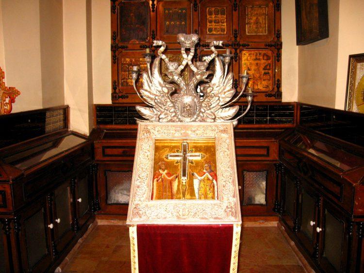 часть Животворящего Креста, Храм Воскресения Господня, Храм Гроба Господня, Иерусалим