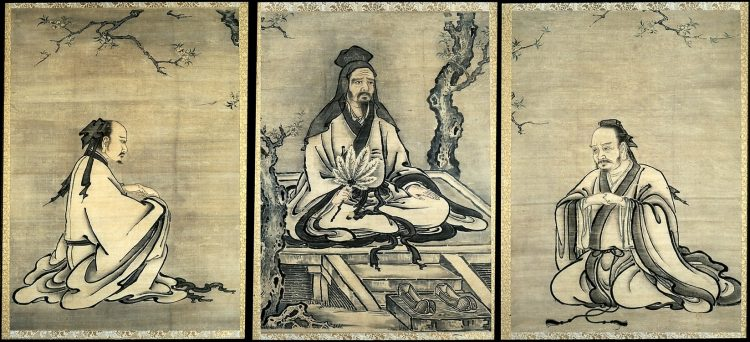 Конфуций, гравюра