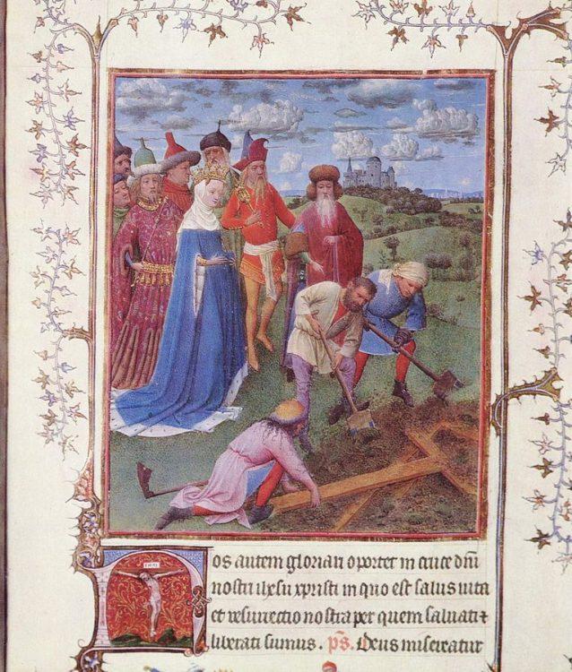 Воздвижение Креста Господня, православие, праздник, календарь, Императрица Елена наблюдает за раскопками. Ян ван Эйк