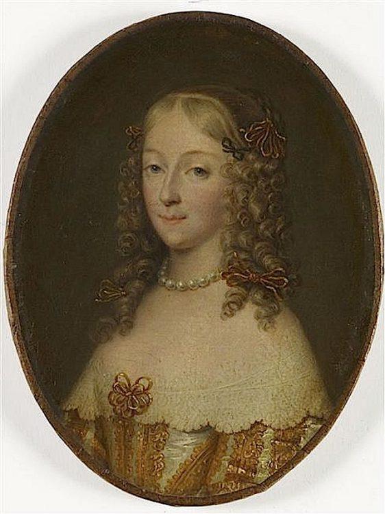 Анна де Конте, любовница Ларошфуко, история Франции