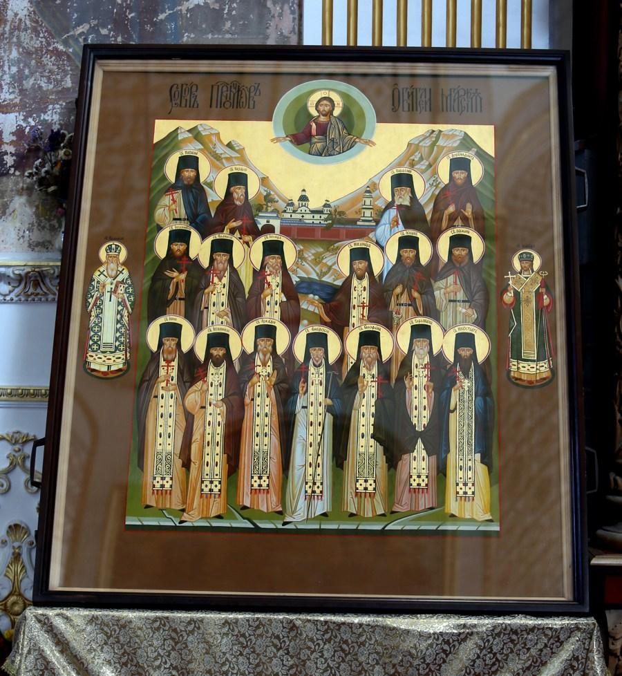 Мгарский скит, скит Мгарского монастыря, икона