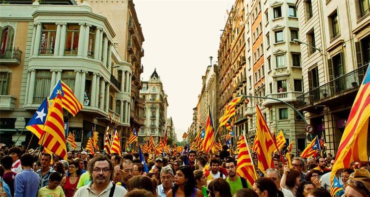 фишки дня - 11 сентября, День Каталонии Барселона