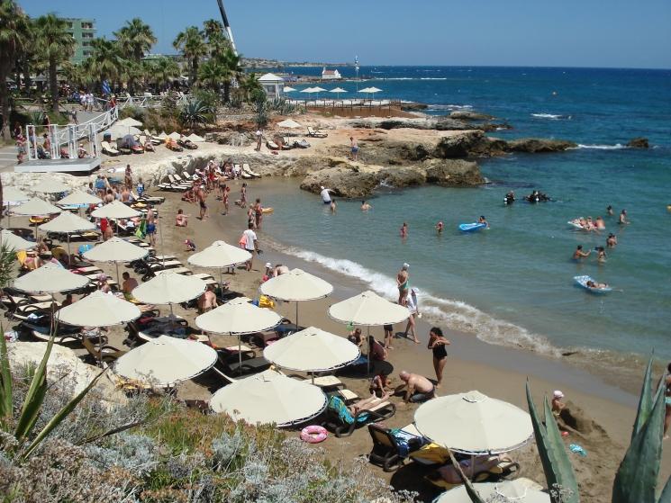 отдых на Крите с детьми, пляж Херсониссос