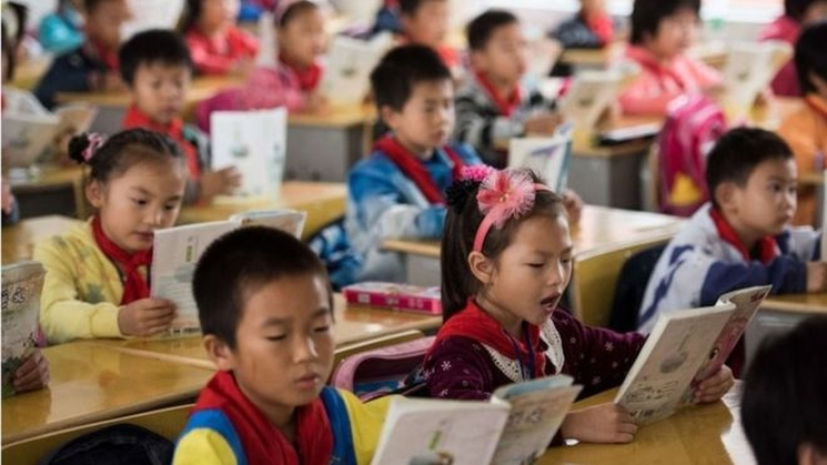 фишки дня - 8 сентября, День грамотности, китайские школьники