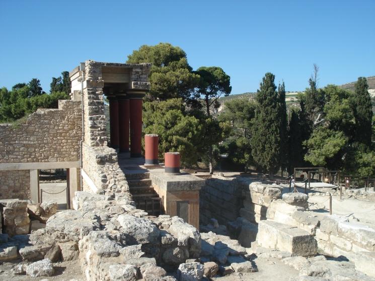 Кносский дворец, экскурсии на Крите