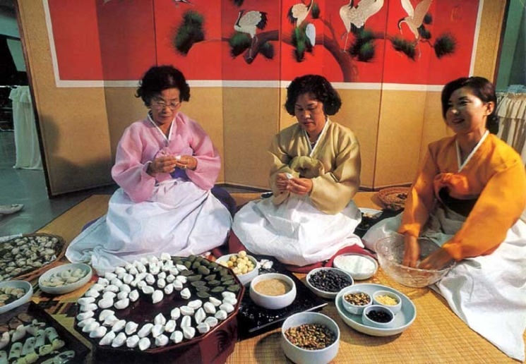 фишки дня - 24 сентября, Чхусок, праздники Кореи