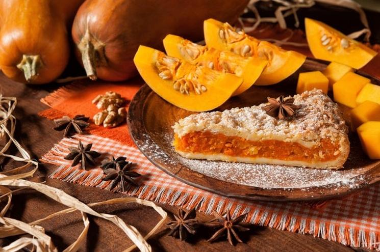 фишки дня - 13 сентября, пирог с тыквой