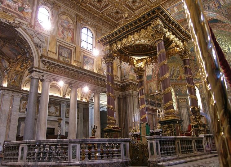 фишки дня - 9 сентября, собор Санта-Мария-Маджоре, епископ Либерий