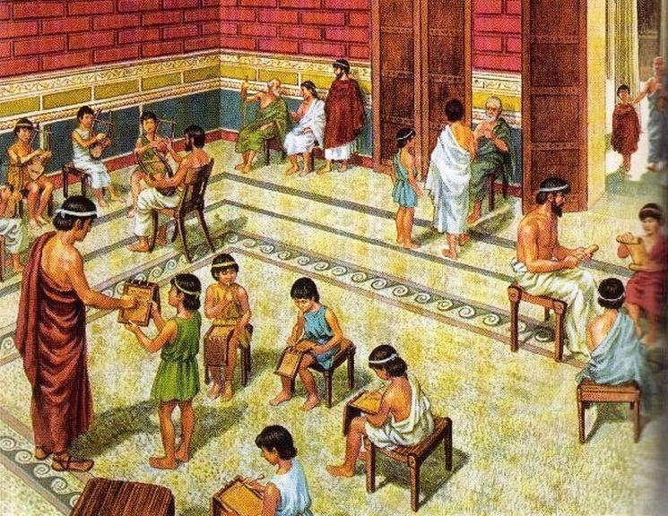 фишки дня - 1 сентября, день знаний, древние школы