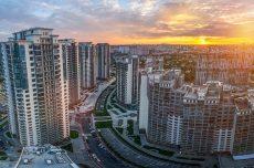 Киев, цены на квартиры в Киеве, панорама