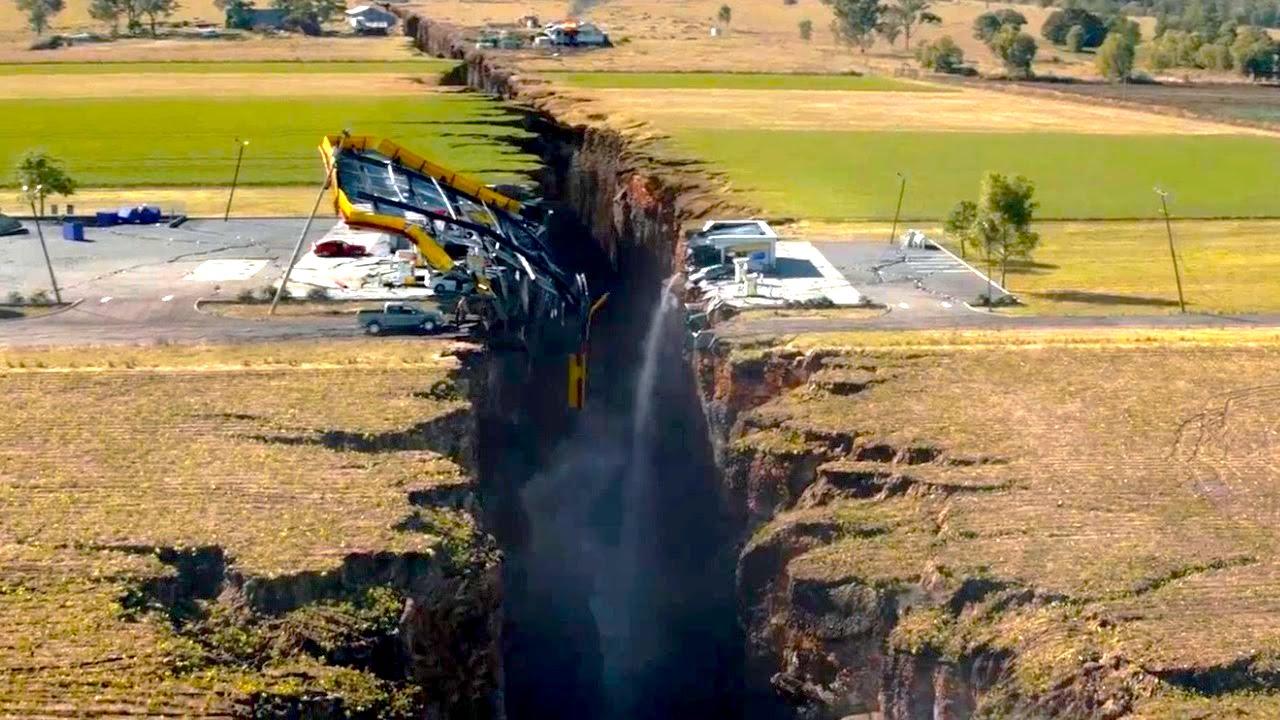 Планета Земля и разломы – почему возникают и как вдохновляют Голливуд