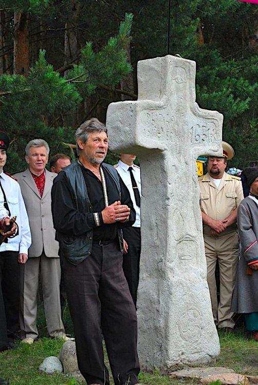 Берестечко, памятник казакам, крест, Головань
