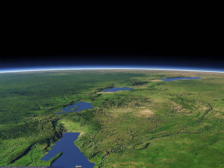 Великая Рифтовая долина, планета Земля