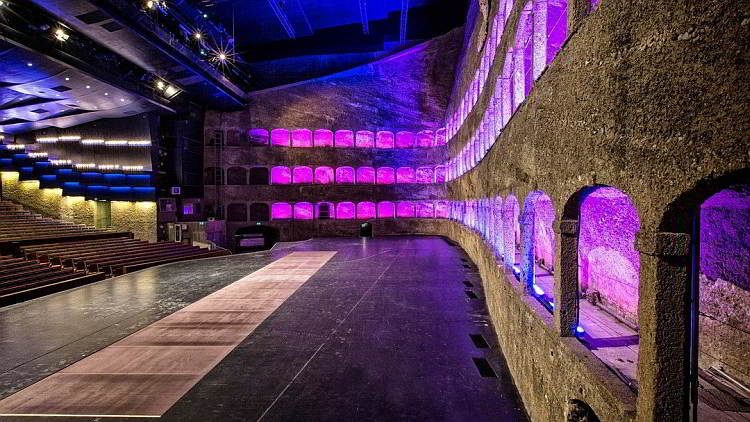 театральный зал, Зальцбург, Зал Фельзенрайтшуле, Австрия
