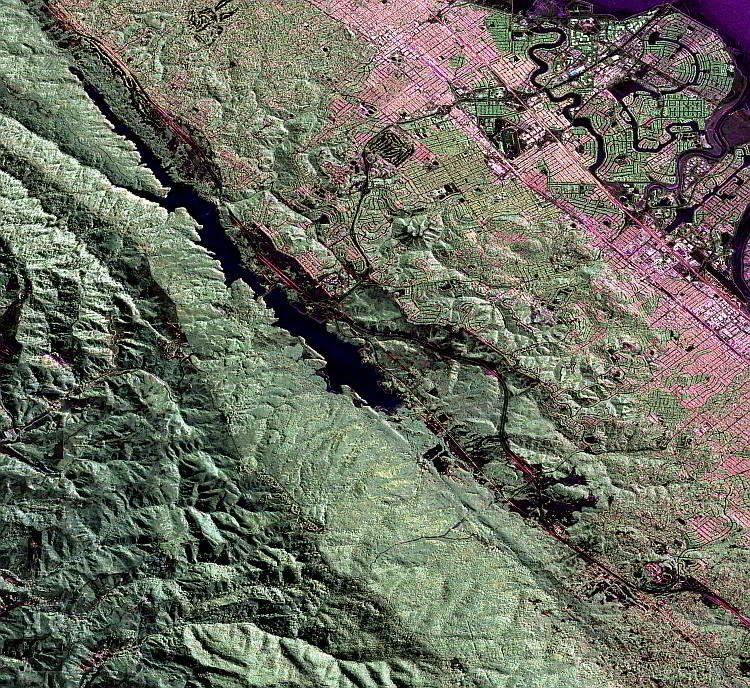 Сан Андреас, Планета Земля, разломы, землетрясение