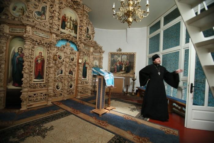 Полтавский монастырь, спецпроект Тайны монастырей, иконостас, Венчание