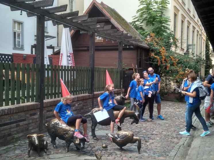 Вроцлав, фестиваль гномов