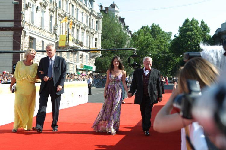 Карцев на Одесском кинофестивале