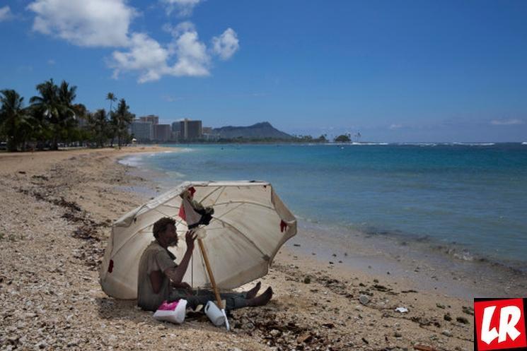 фишки дня - 10 октября, Гавайи, день бездомных, бездомные на Гавайях