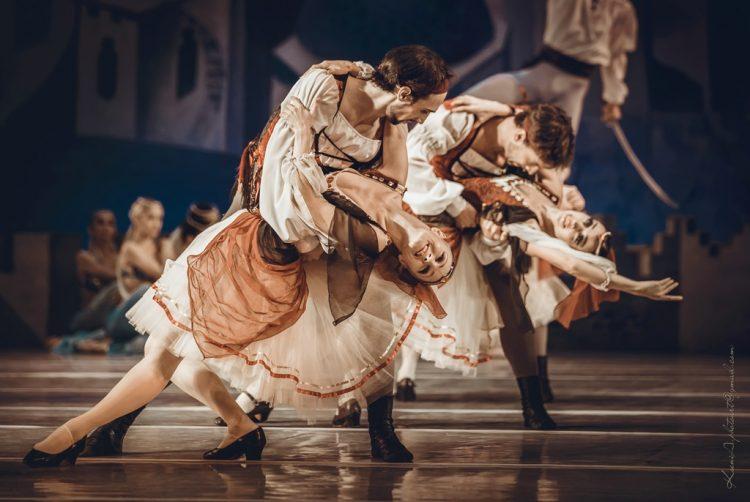 балет корсар, национальная опера в ноябре 2018