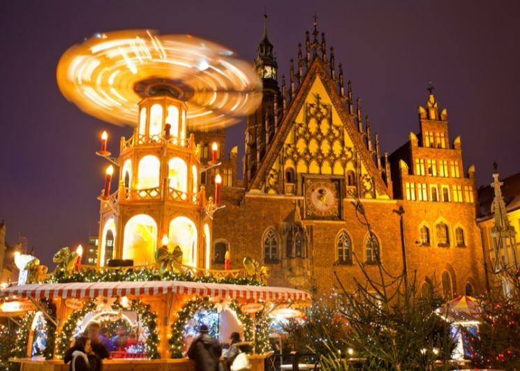 Рождественская ярмарка Вроцлав