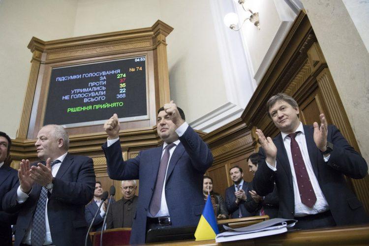 гройсман верховная рада вр верховный совет принятие бюджета
