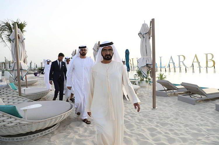 Бурж аль Араб, отель-парус, Дубаи