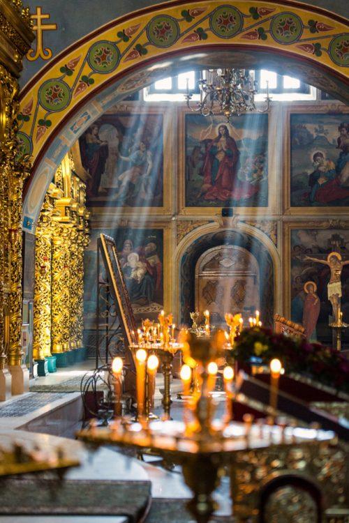 Михайловский Златоверхий собор в Киеве, интерьеры
