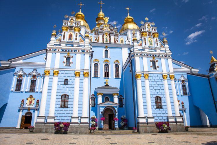 храм, православие, Михайловский Златоверхий собор в Киеве