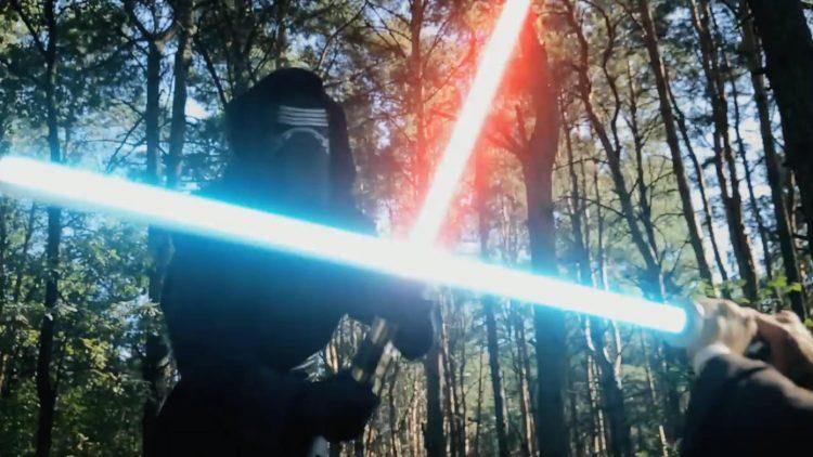 Звездные войны, битва на световых мечах