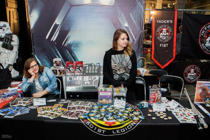 Звездные войны, кино, 501 легион, ComicCon Ukraine