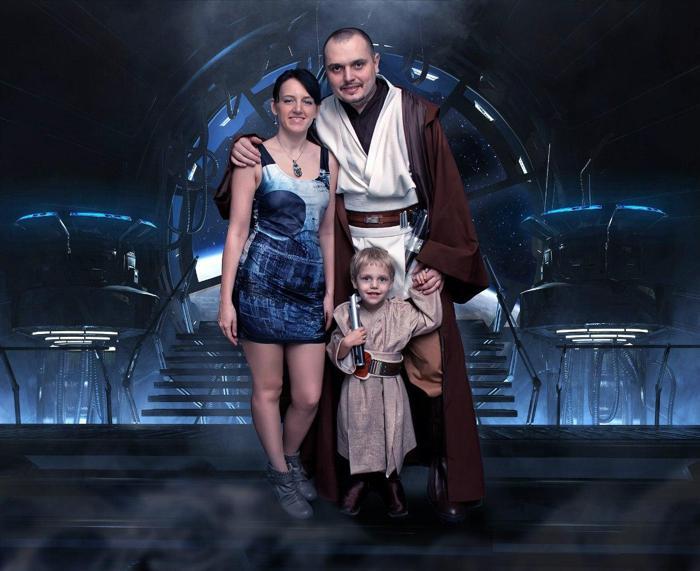 Звездные войны, семья, поклонники