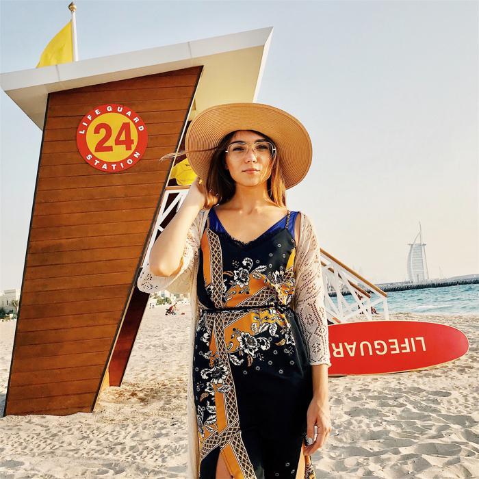 пляж, Дубаи, Украинцы в Эмиратах, ПМЖ в ОАЭ