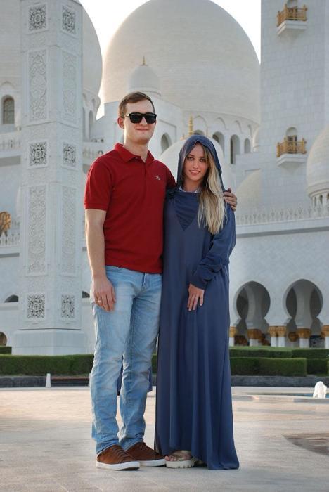 ПМЖ в ОАЭ, Украинцы в Эмиратах, Мечеть шейха Зайда, Абу-Даби