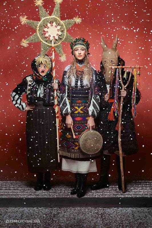 Леся Никитюк, календарь 2019, Новый год, проект Щирі. Свята