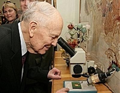 Борис Патон, микроскоп