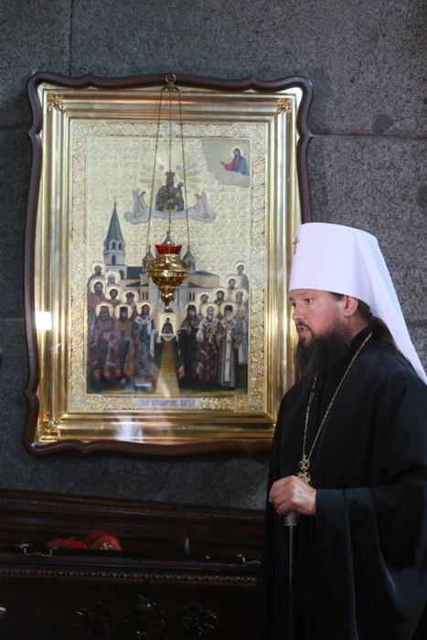 Житомир, икона собора святых, в земле Житомирской просиявших, тайны монастырей, Преображенский собор Житомира, Владыка Никодим,
