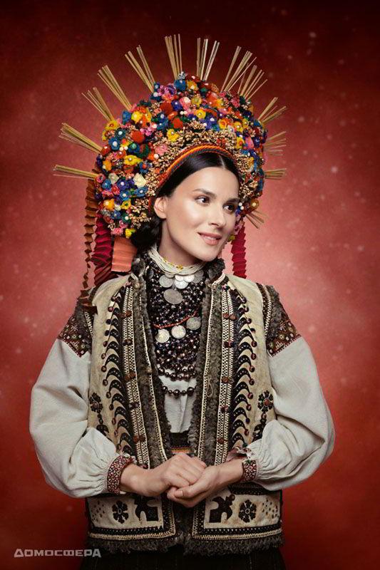Маша Ефросинина, календарь 2019, Новый год, проект Щирі. Свята