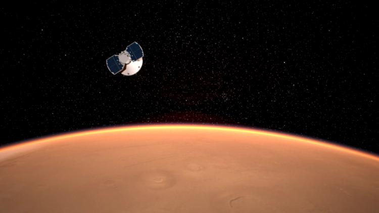 Марс, InSight, полет