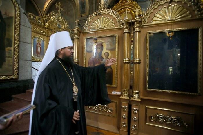 житомир, тайны монастырей, Преображенский собор Житомира, чудо - отражение иконы на стекле